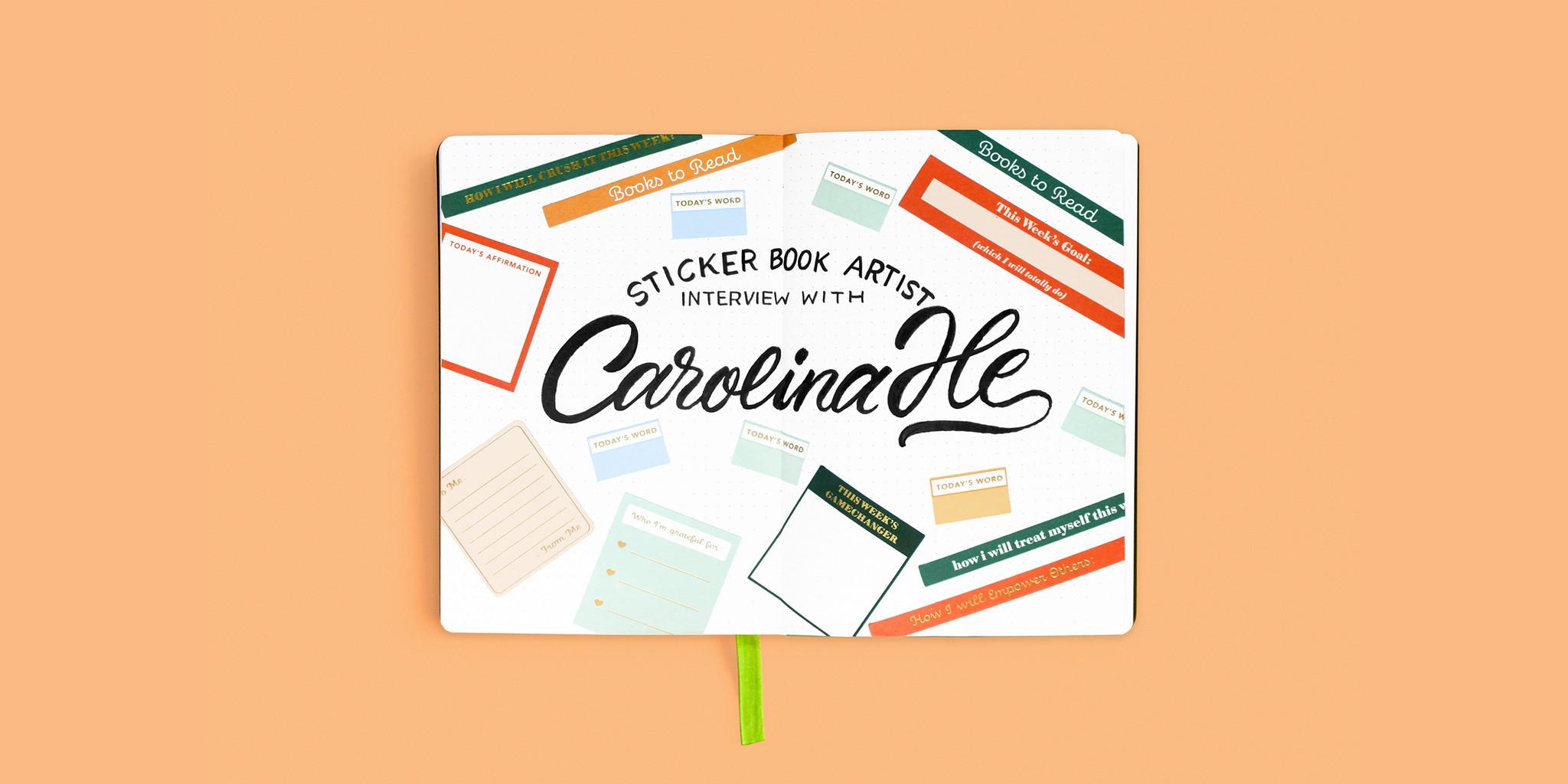 Sticker Book Artist Interview: Carolina He