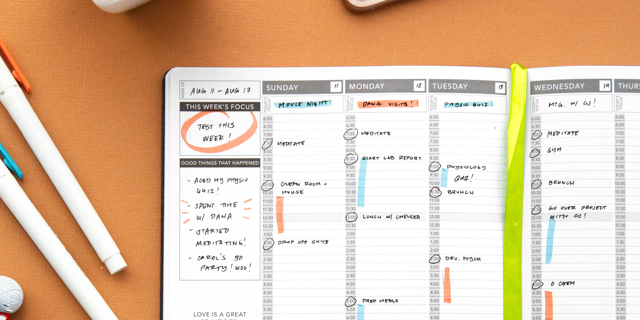 5 Reasons You Should Buy an Undated Planner