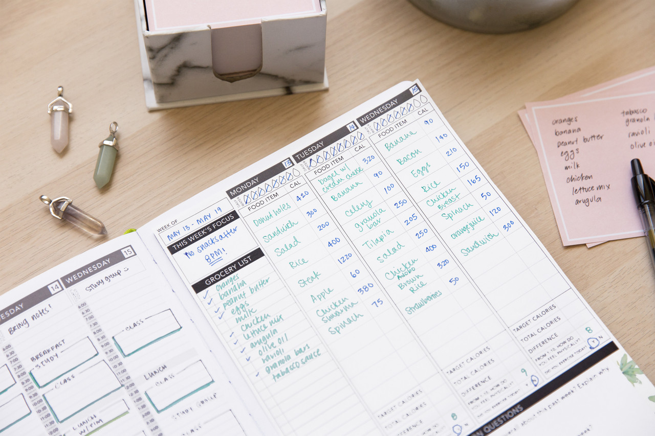 It is an image of Invaluable Printable Calorie Tracker