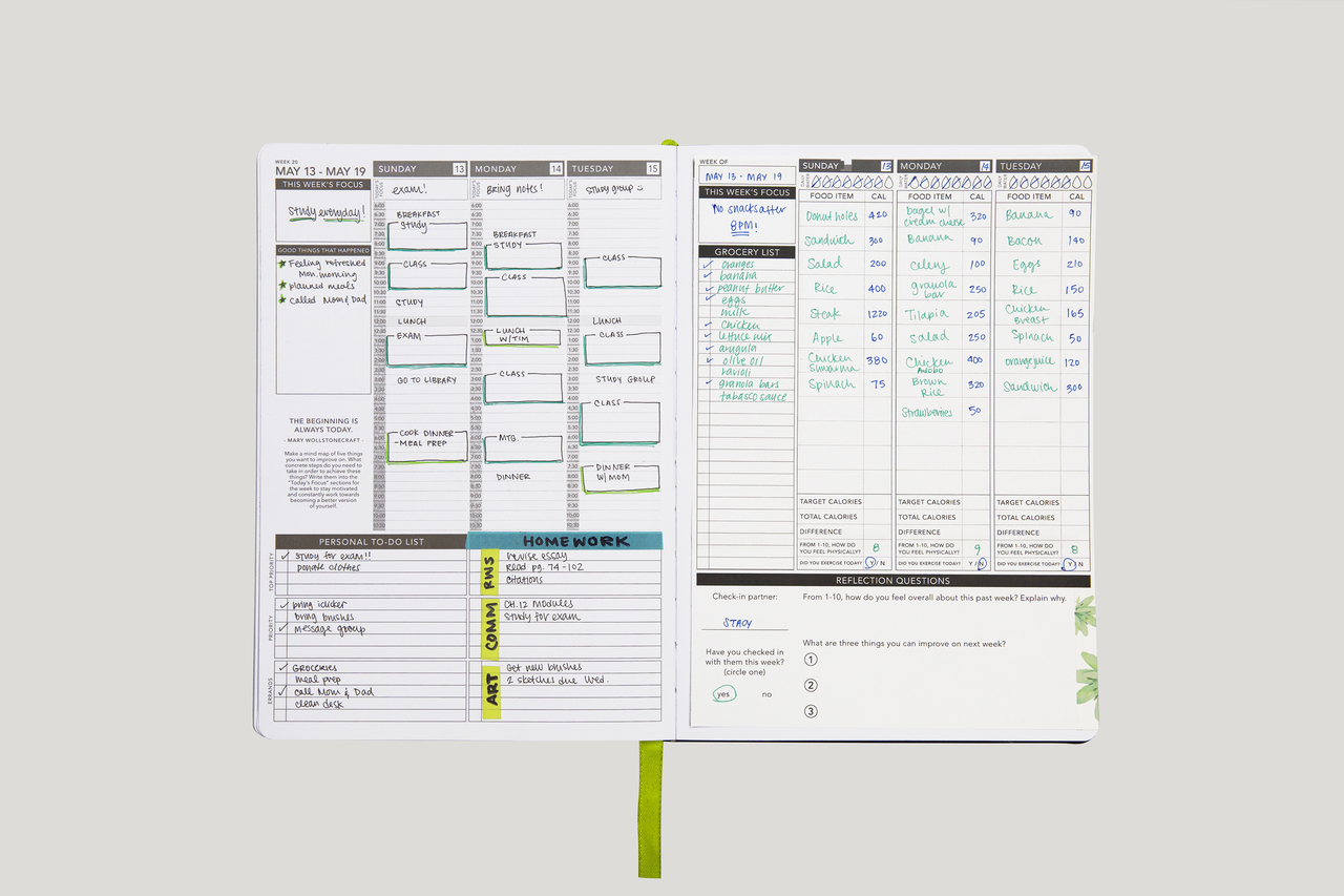 This is an image of Impeccable Printable Calorie Tracker