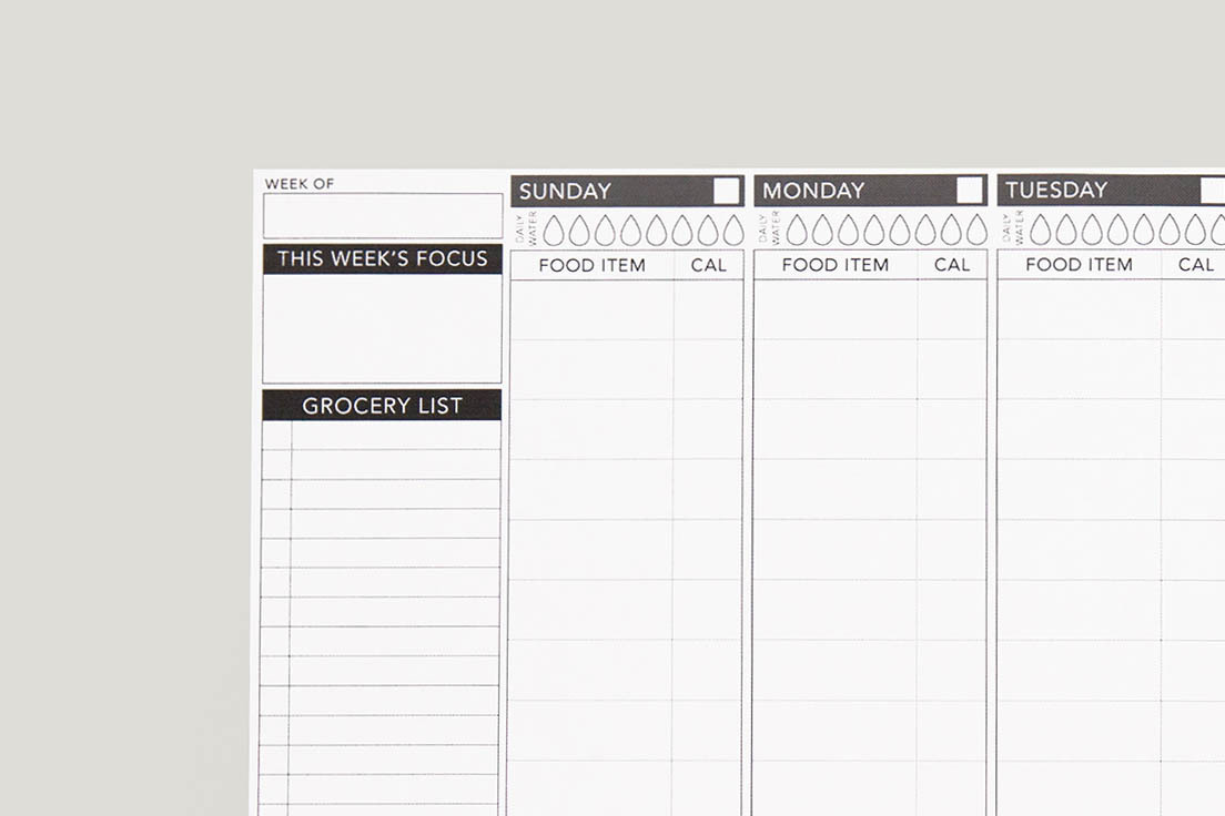 free printable daily calorie tracker passion planner
