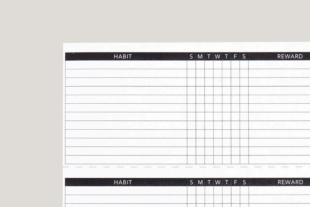 image about Free Printable Habit Tracker identified as Behavior Tracker