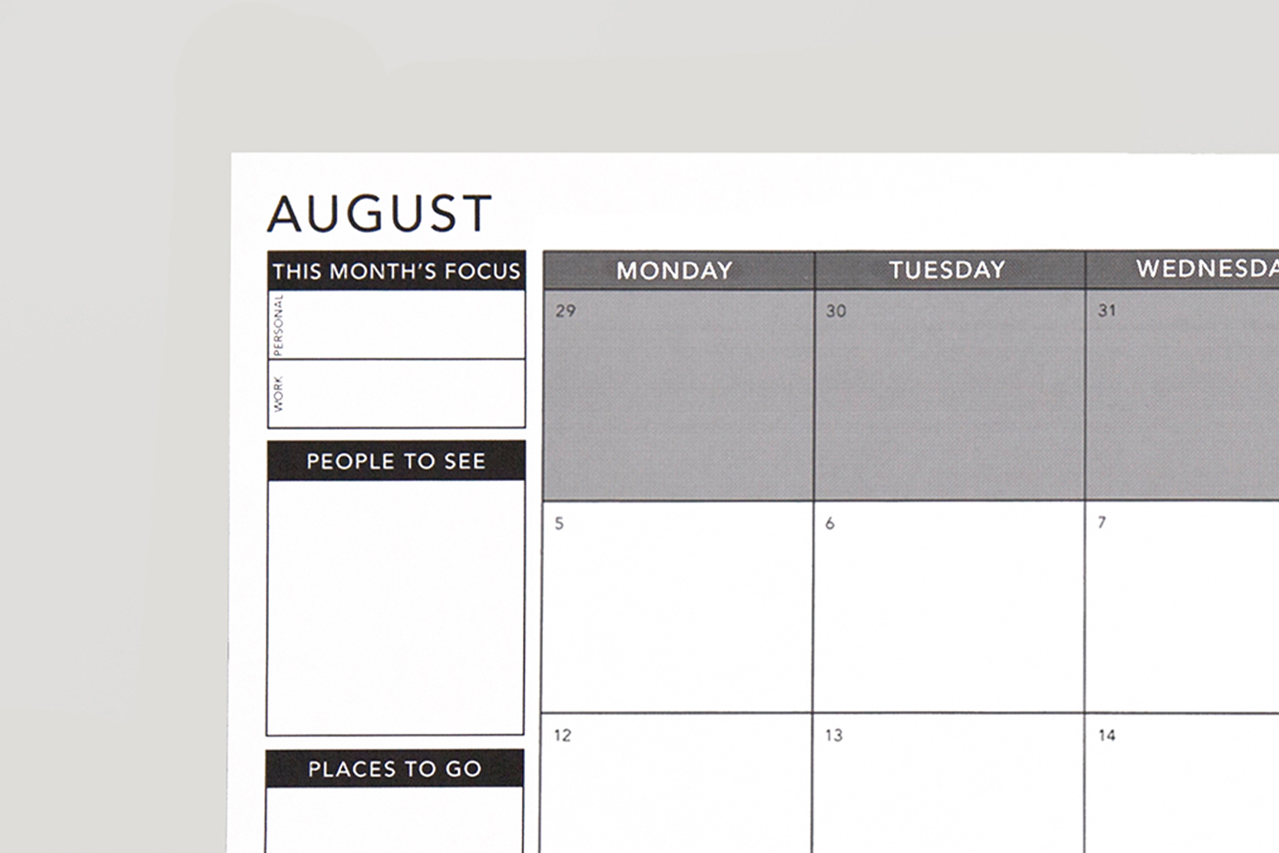 image relating to Happy Planner Monthly Layout Printable titled Obtain Free of charge Planners Equipment Pion Planner