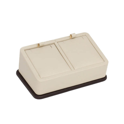 Two Tone Leatherette Tray for 2 Pendants