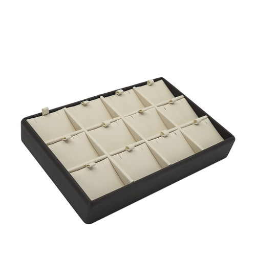 Leatherette Tray for 12 Pendants
