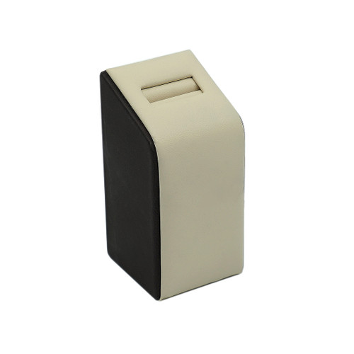 Tall Leatherette Single Ring Slot Stand