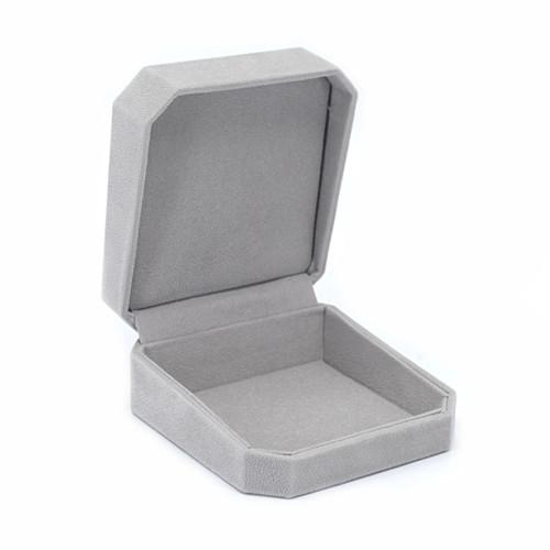 Octagonal Suede Utility Box