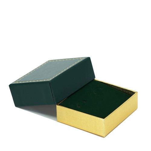 Leatherette Packer Hoop Earring Box