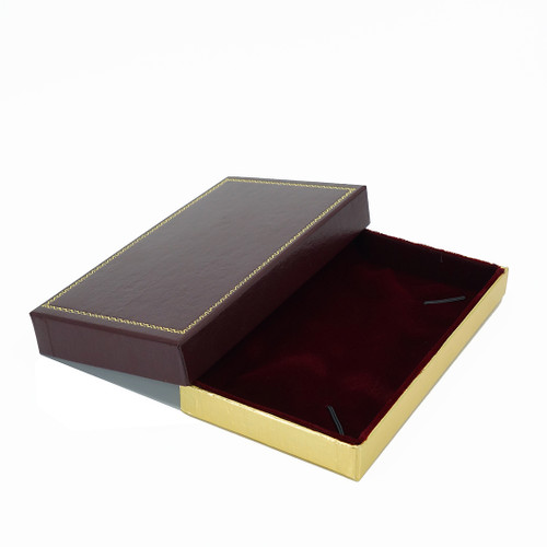 Leatherette Packer Necklace Box