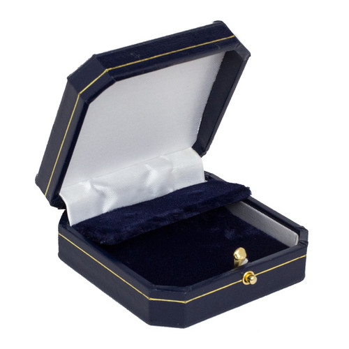 Push Button Clip Earring Box