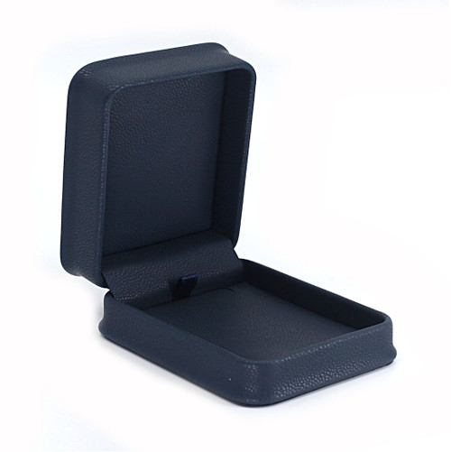 Embossed Leatherette Pendant Box