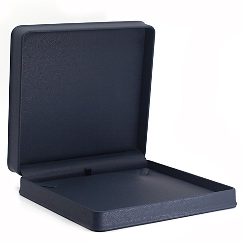Embossed Leatherette Large Necklace Box
