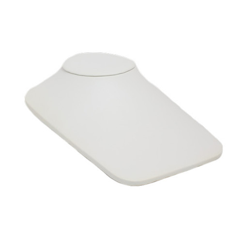 Leatherette Square Low Profile Neck Display - Large