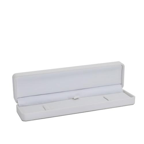 Round Corner Leatherette Bracelet Box