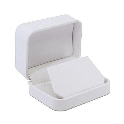 Round Corner Leatherette Small Earring/Pendant Box