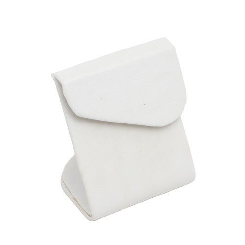 Leatherette Earring Stand w/ Angled Flap