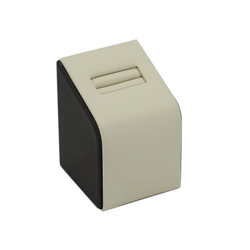 Short Leatherette Single Ring Slot Stand
