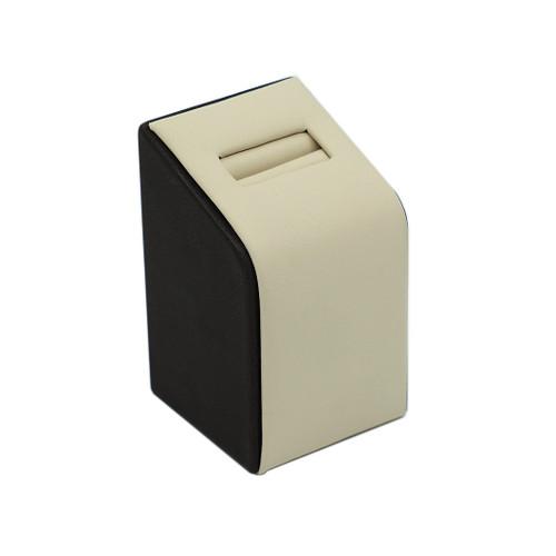 Medium Leatherette Single Ring Slot Stand