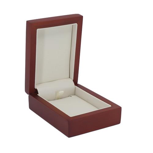 Natural Wood Pendant Box