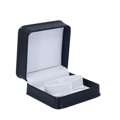 Textured Leatherette Bangle Box