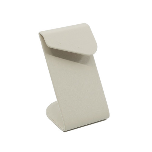Medium Leatherette Earring Stand w/ Angled Overlay