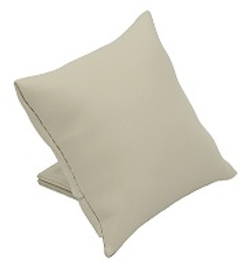 Leatherette Pillow Cushion w/ Stand