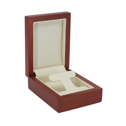 Natural Wood Drop Earring Box