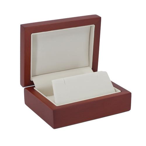Natural Wood Small Pendant/Earring Box