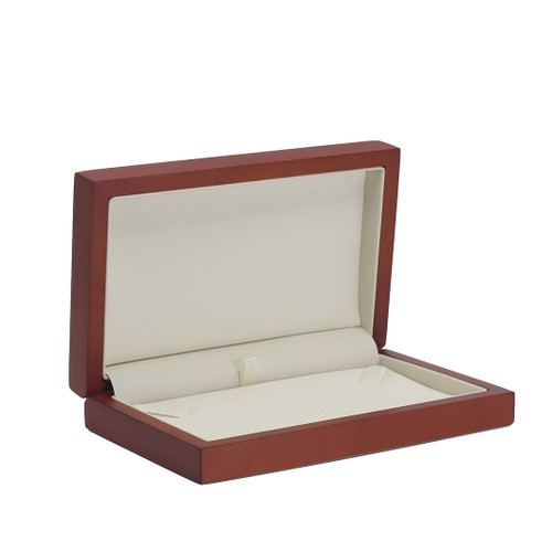 Natural Wood Small Necklace Box