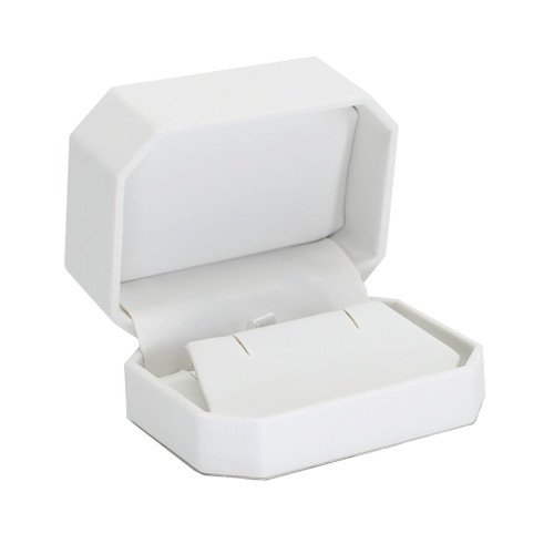 Octagonal Leatherette Earring/Pendant Box