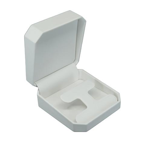 Octagonal Leatherette Drop Earring Box