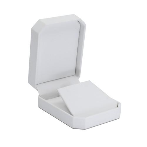 Octagonal Leatherette Small Pendant/Earring Box