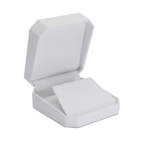 Octagonal Leatherette Large Pendant/Earring Box