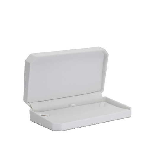 Octagonal Leatherette Small Necklace Box