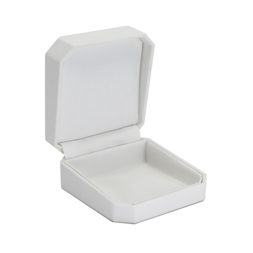 Octagonal Leatherette Utility Box