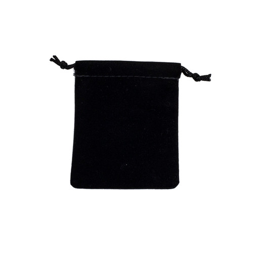 Velour Drawstring Pouch - Small