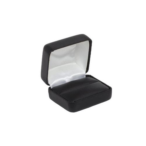 Leatherette Double Ring Box
