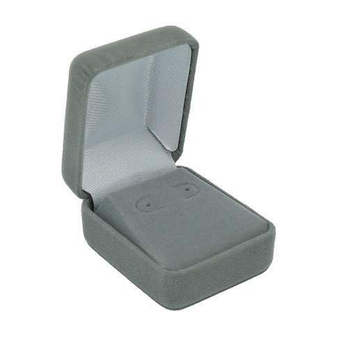 Velour Small Stud Earring Box