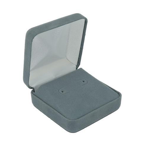 Velour Large Stud Earring Box