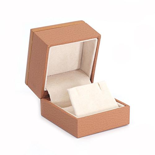 Wood Framed Small Earring Box