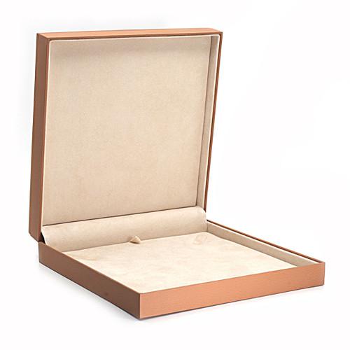 Wood Framed Large Necklace Box