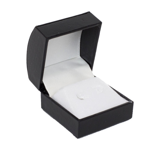 Domed Squared Stud Earring Box