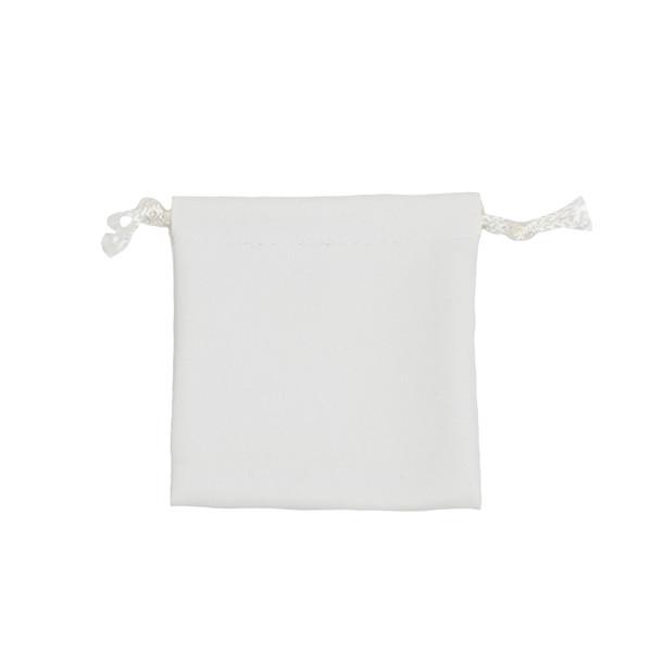 Leatherette Drawstring Pouch - Medium