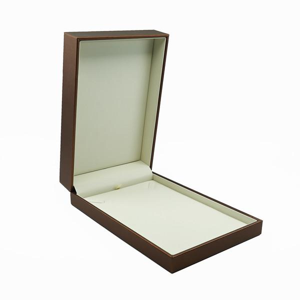 Rich Leatherette Large Necklace Box