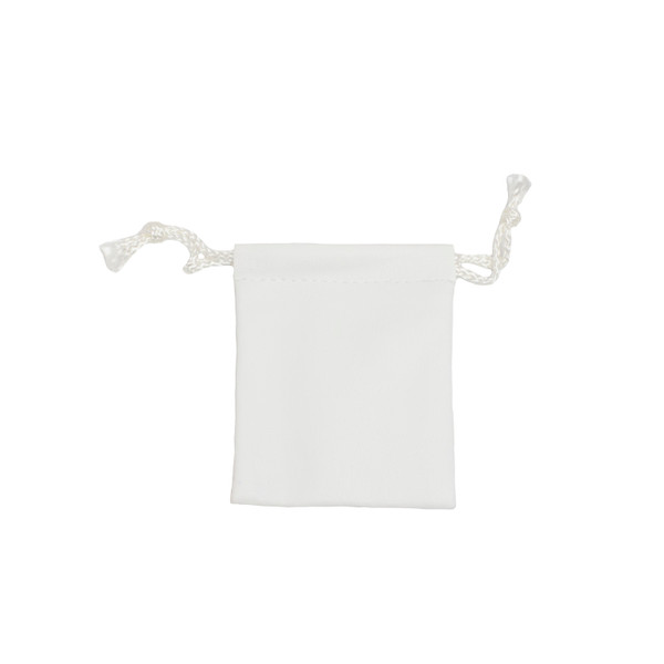 Leatherette Drawstring Pouch - Small