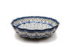 Frilled Dish (large) (Forget Me Not)