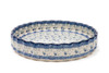 Quiche Dish (large) (Forget Me Not)