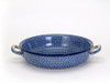 Oven Dish with Handles (large) (Blue Doodle)