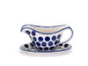Gravy Boat with Saucer (Polka Dot)