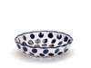 Frilled Dish (large) (Polka Dot)